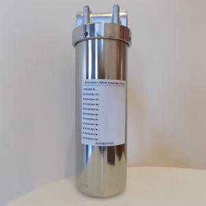 Porte filtre Inox monté sous évier